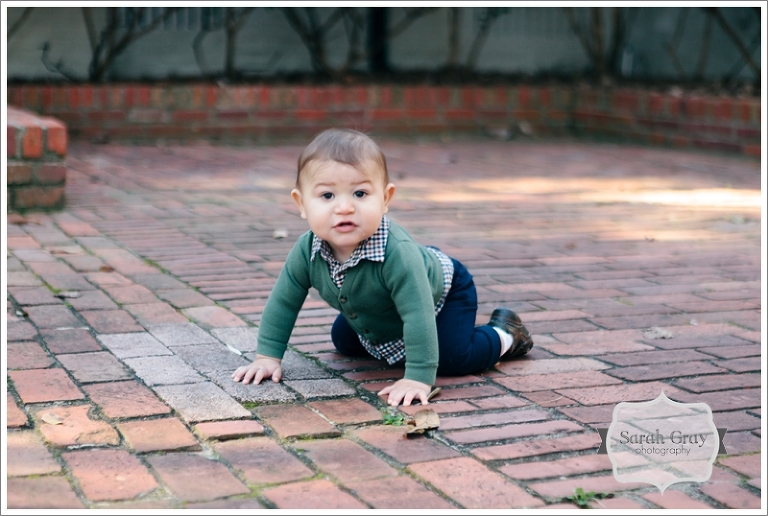Sarah Gray Photography | Tallahassee, FL Baby Plan photographer, 9 months