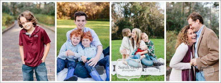 Sarah Gray Photography | Tallahassee, FL Holiday Mini Session Photographer, Maclay Gardens State Park
