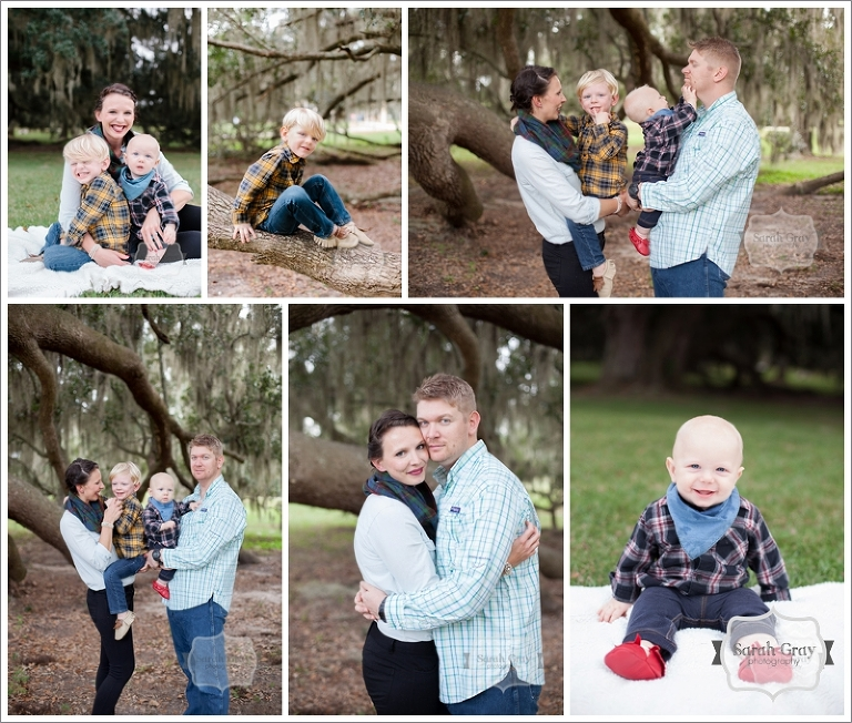 Sarah Gray Photography | Tallahassee, FL Holiday Mini Session Photographer, Southwood Park