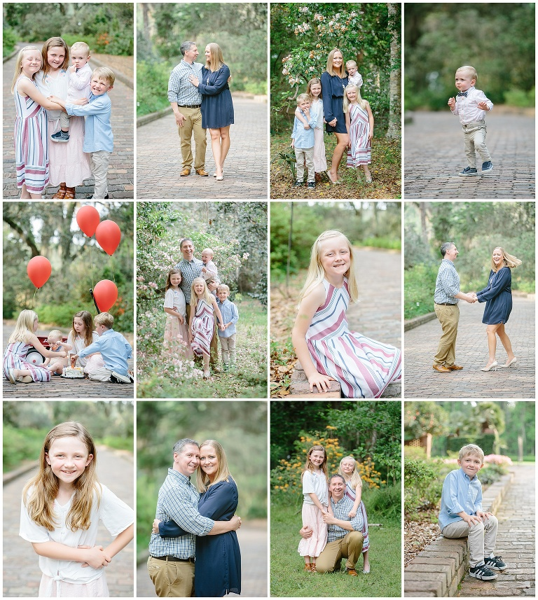 Maclay Gardens State Park family and baby best photoshoot location in Tallahassee