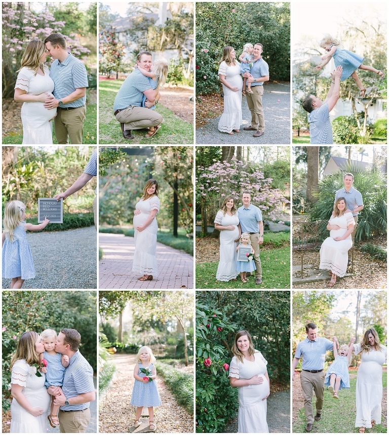 Dorothy B. Oven Park family and baby best photoshoot location in Tallahassee