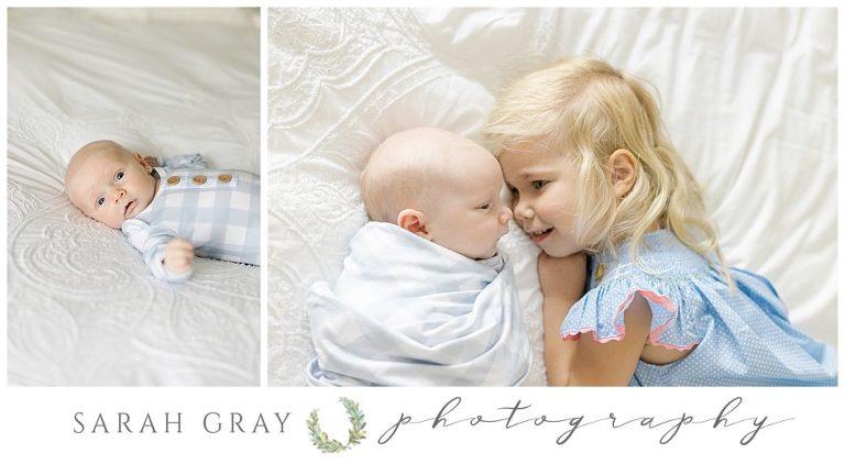 Blue and white newborn baby boy Tallahassee