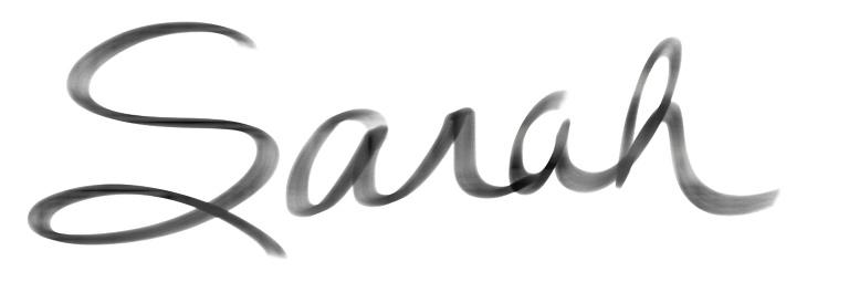 Sarah Signature